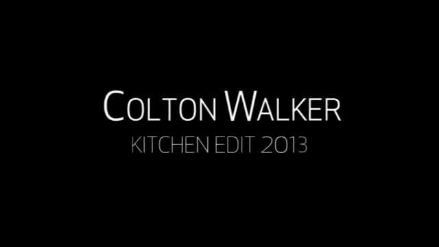Haro车手Colton Walker在Kitchen Skatepark