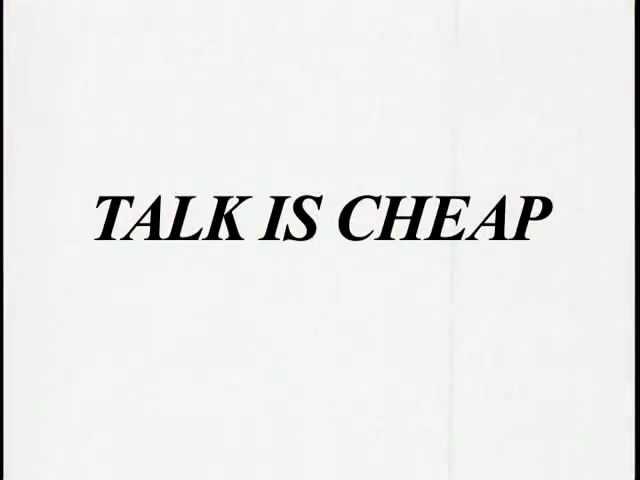 "CULT ""Talk is Cheap"" DVD online now"
